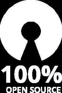 Tecnologia 100% Open Source